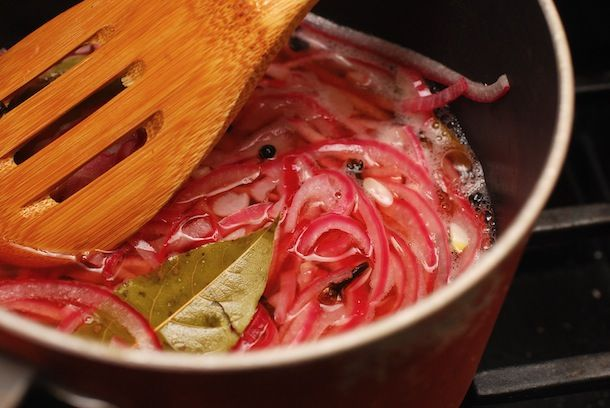 Easy  Quick Pickled Red Onions | Always Order Dessert