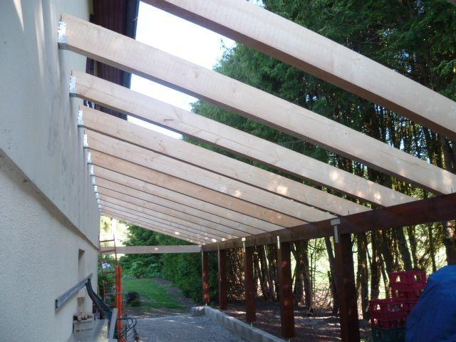 17 meilleures images propos de appenti et terrasse for Construire un garage contre une maison