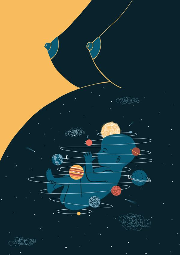 Universe inside | Exhibition by Federica Bordoni, via Behance