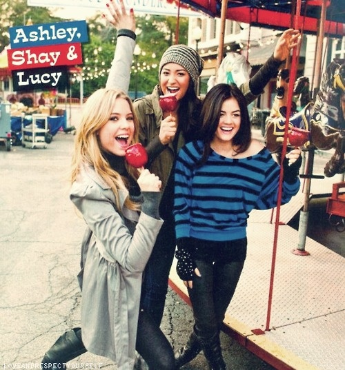 Ashley Benson, Shay Mitchell and Lucy Hale