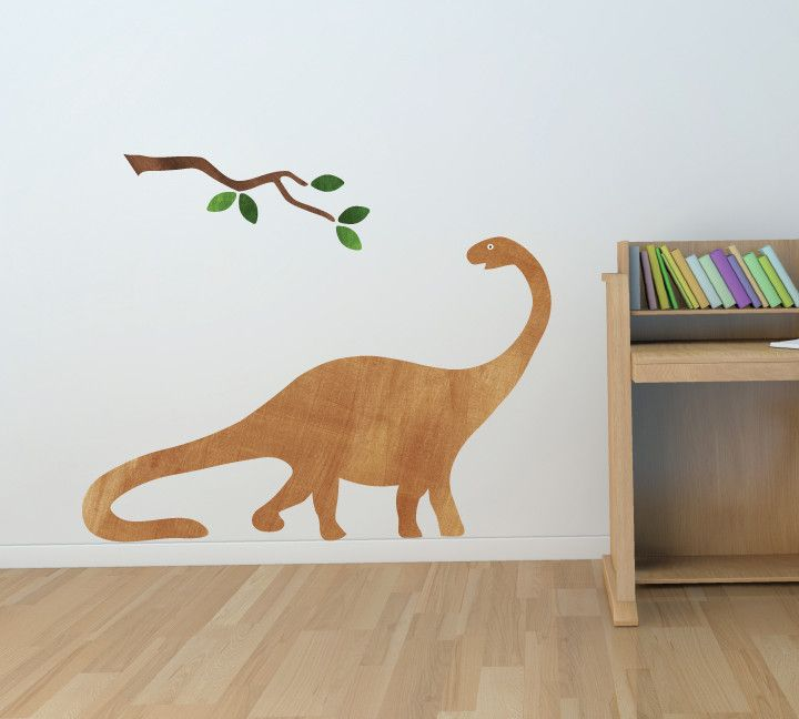 Brontosaurus wall decals dinosaur fabric wall decals large fabric walls products and medium
