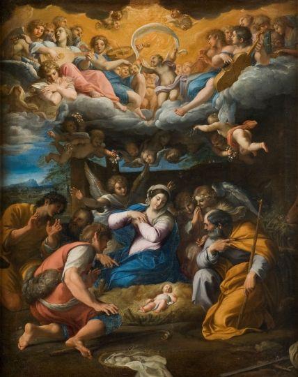 Annibal Carrache, L'Adoration des bergers, 1597-1598, Paris, Musée du Louvre