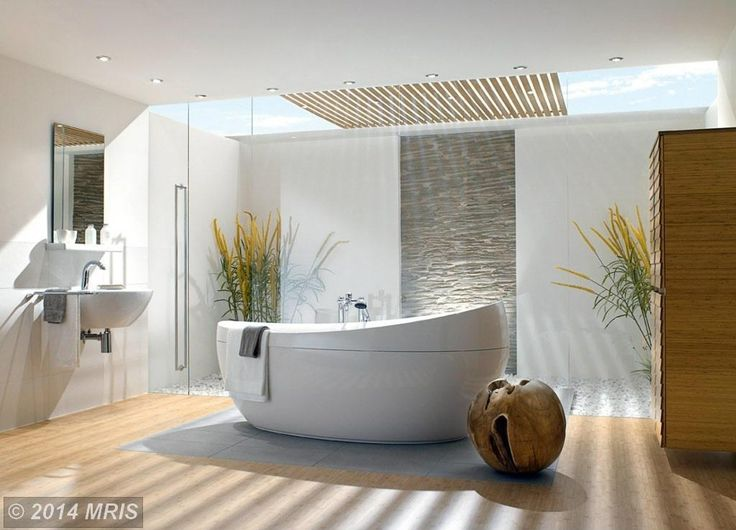BATHROOM WITH A BALCONY - Google Search