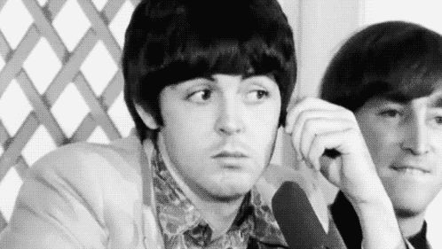 The Beatles- Paul's Suspicious Wink. by pjcb12
