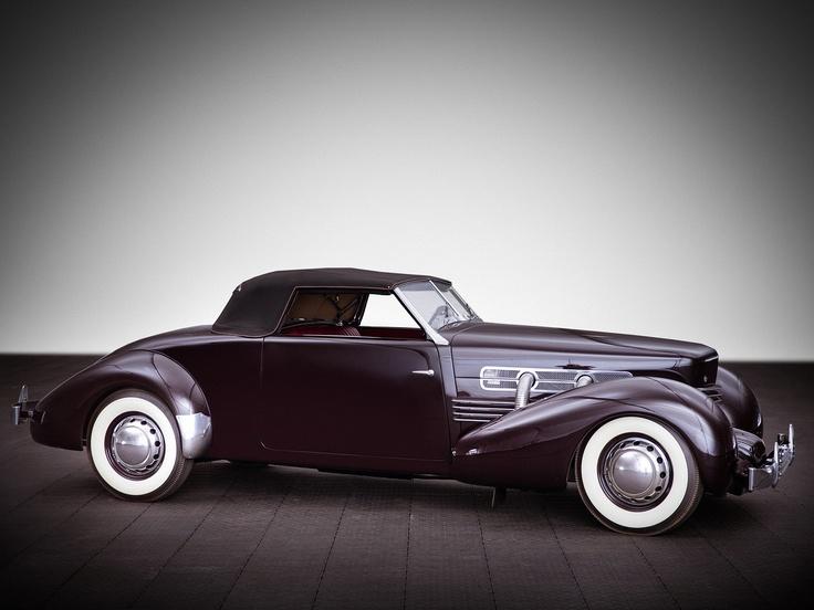1937 Cord 812 SC Convertible Coupe