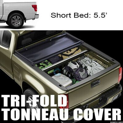 Black Soft Roll-Up Tonneau Cover Assembly Fit 16-19 Tacoma 6/' Fleetside Bed