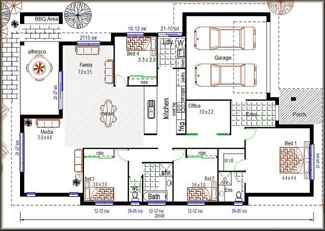 4 bedroom plus office house plans design ideas 2017 2018 for 6 bedroom kit homes