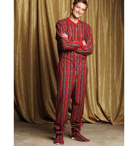 Men's adult onesie pattern - u can buy the pattern. win!