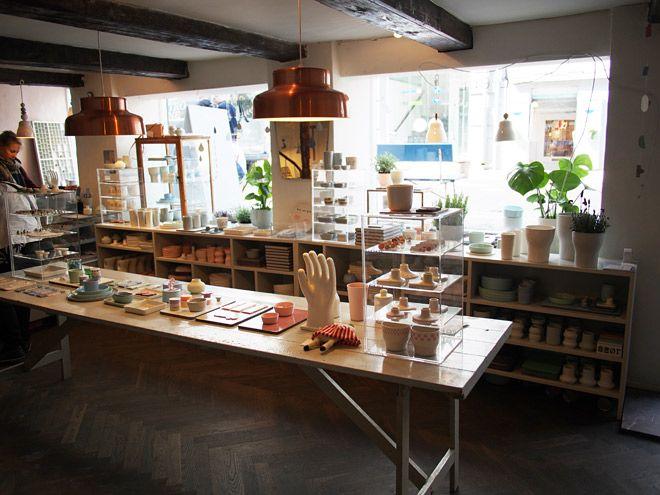 Liebeshop is full of pastel ceramics. Kompagnistræde 23.  http://liebeshop.dk/shop/frontpage.html