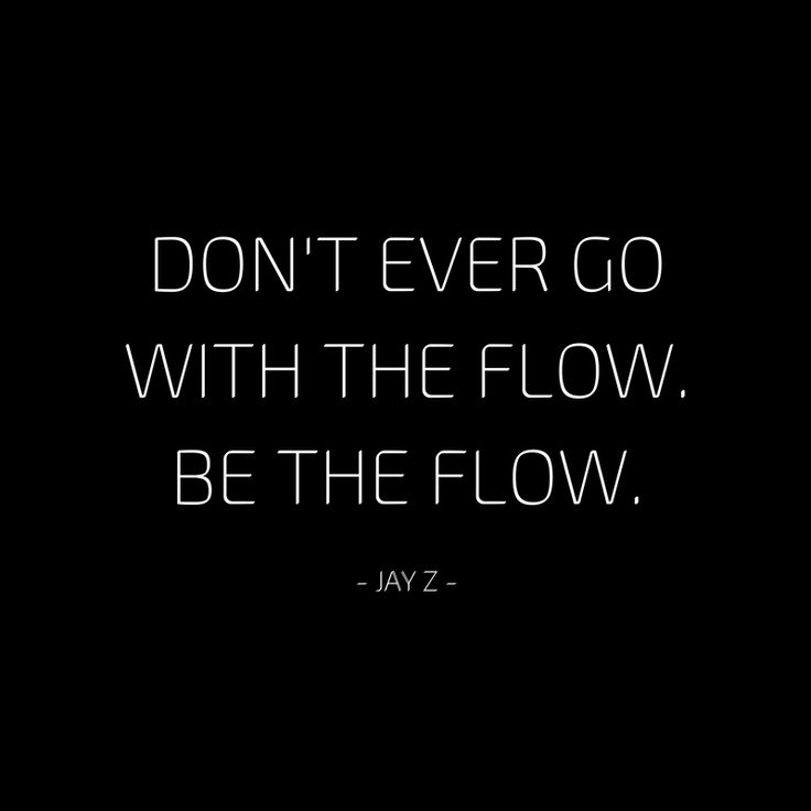 Don't go with the flow, BE the flow. #Flow #yoga # ...