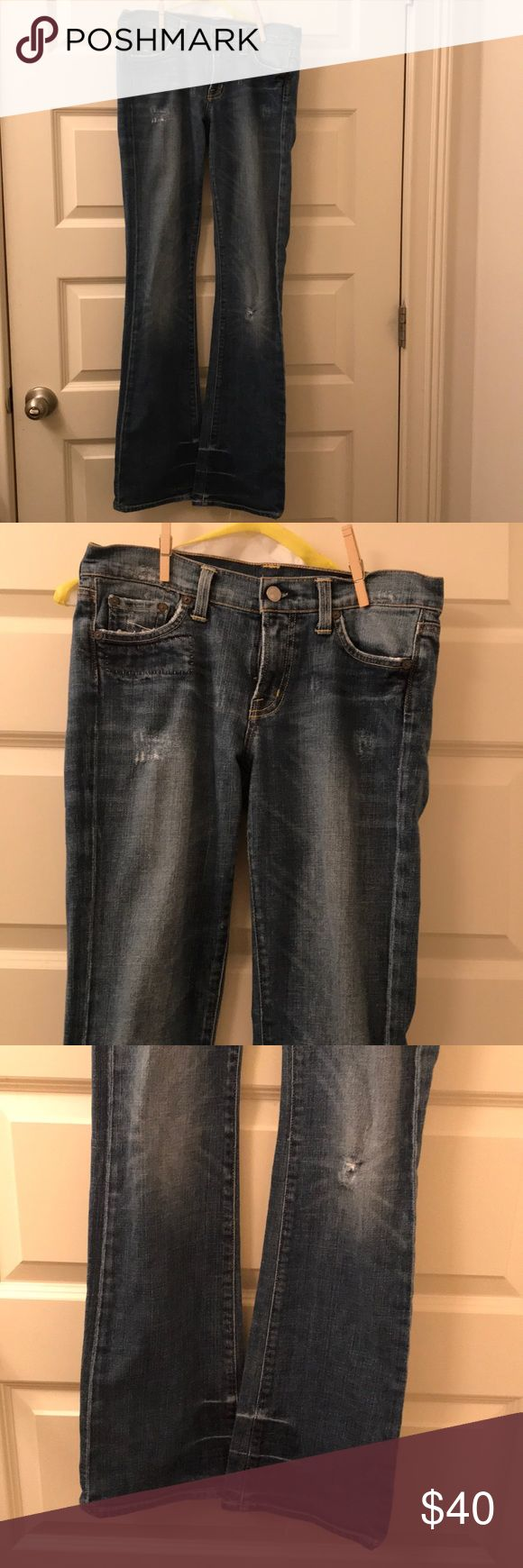 Citizens of Humanity jeans SALE! Citizens of Humanity boho stretch #111 low waist bootcut jeans. Original hem. Size 27. Great condition! Citizens Of Humanity Jeans Straight Leg