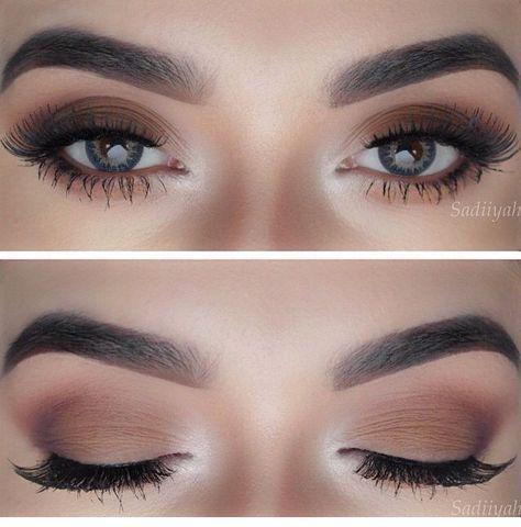 Make up Brown Matte. Makeup casual, @yanameaston follow 'Eyeshadows' for more! :) X