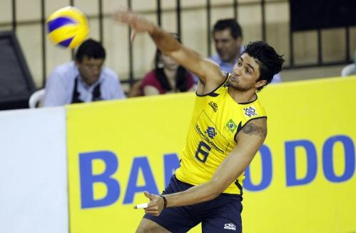 Leandro Vissotto, from Brazil (Volleyball)