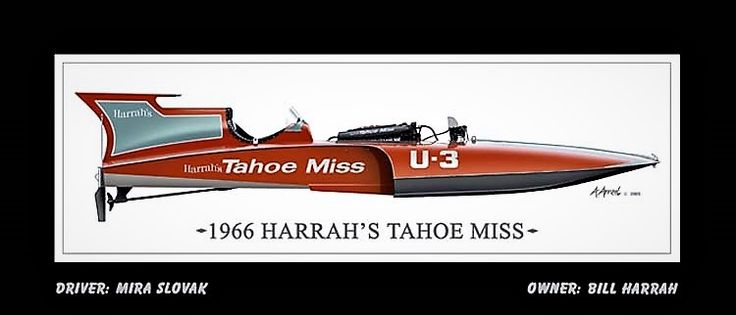U-3, Harrah's Tahoe Miss, 1966