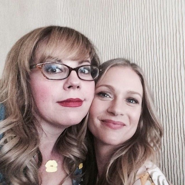 Kirsten Vangsness and AJ Cook