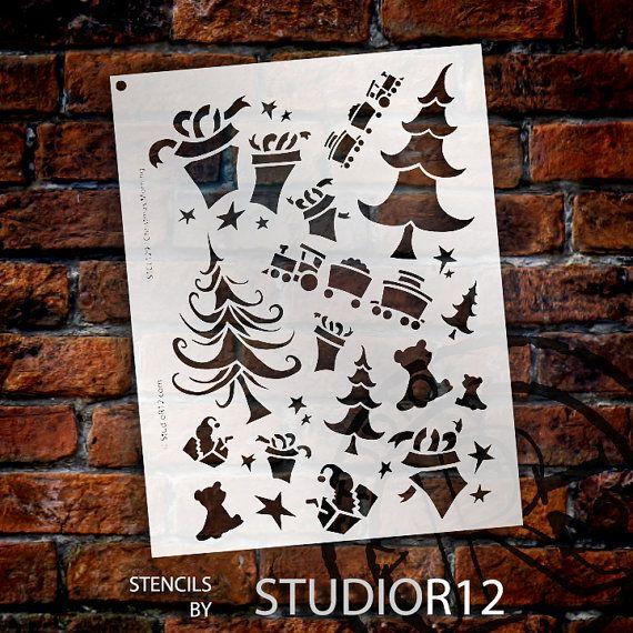 Mattina di Natale Stencil  Scegli la tua taglia  di StudioR12