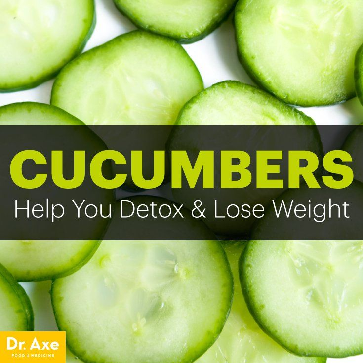 Cucumber Nutrition Helps You Detox & Lose Weight - Dr. Axe