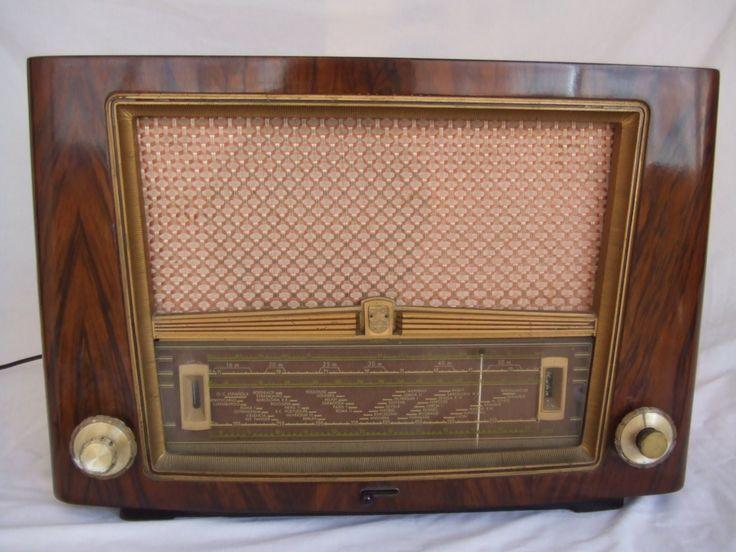 Philips BE 441A (1954). Antique radio, Tube radio