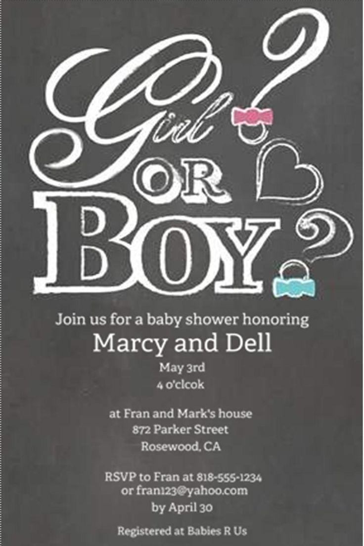 158 best Baby Shower Invitations images on Pinterest | Baby ...