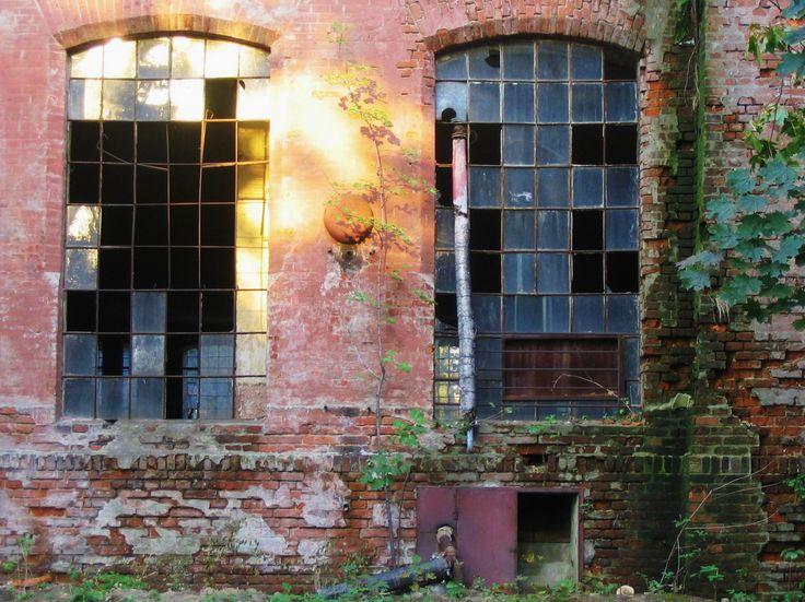 Abandoned cotton factory. Lodz, Poland