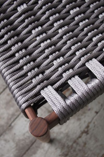 thedesignwalker:  Phloem Studio by Benjamin Klebba  use paracord for furniture
