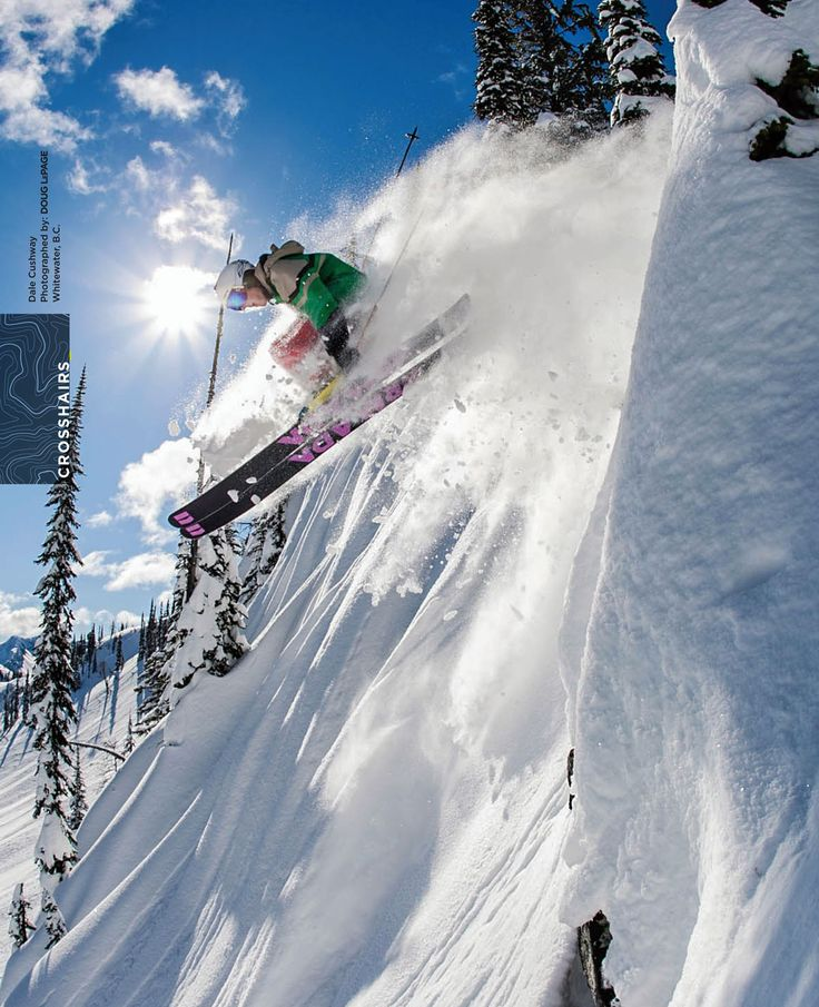 photo: DOUG LEPAGE skier: Dale Cushway snow: Whitewater BC  Fall 2014 issue