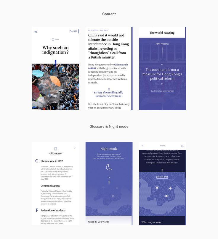 As part of a workshop with the Reuters Fundation, we create a app concept for the press. Art Direction: Benjamin Vimont & Marthe Siestrunck iOs Development: Sylvain Reucherand & Clément Bardon