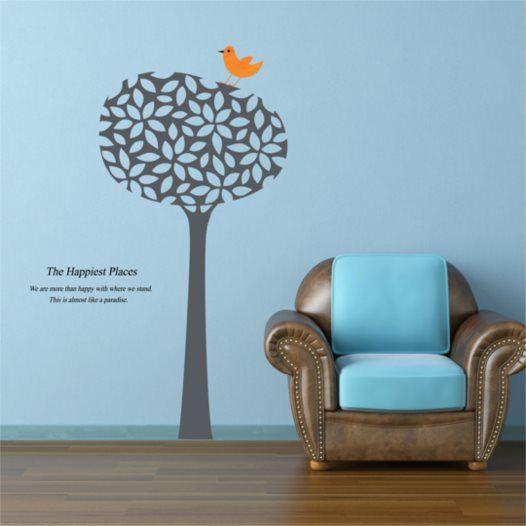 Hemdekor - Väggdekor Trädet med pippin