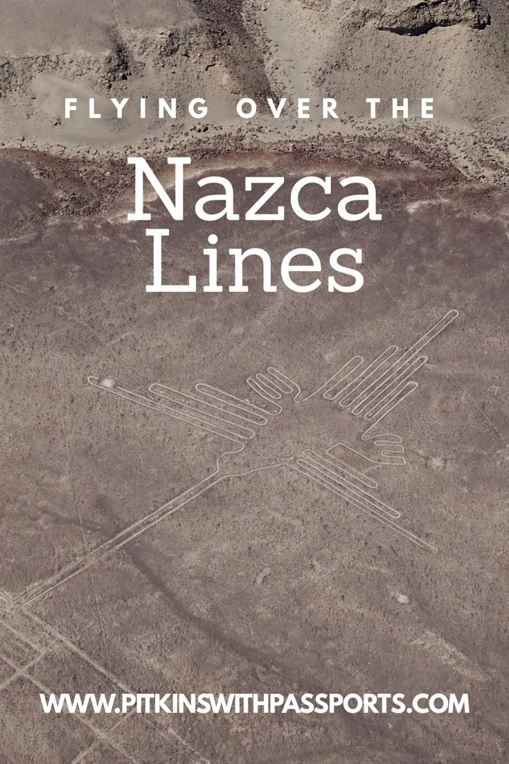 A post on our incredible flight over the Nazca Lines! If you can afford it and don't mind flying, we definitely recommend you add this to your Peru bucket list. We've also included what else we did on our day in Nazca, including visiting Cahuachi and the aquaducts.