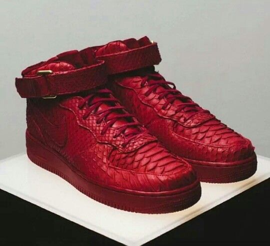 Python red airforce 1's
