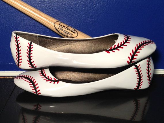 Baseball Shoes New look by PersnicketyElephants on Etsy, $40.00