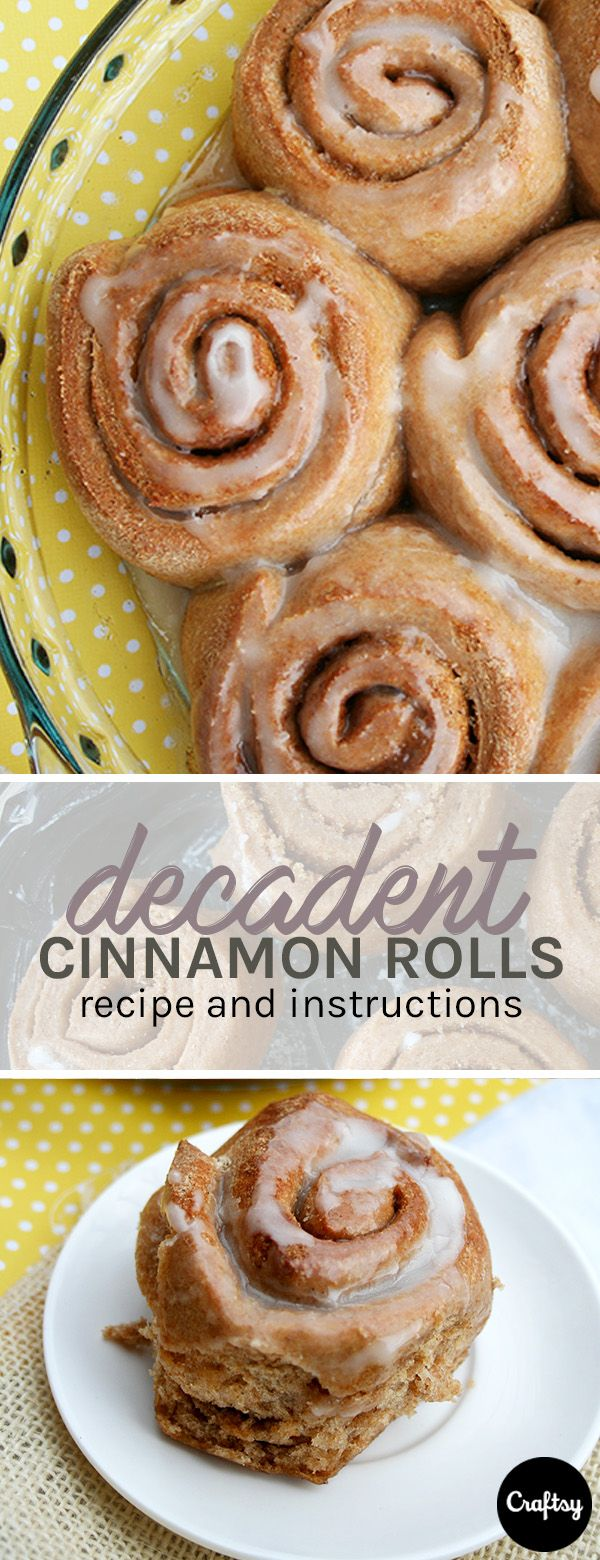 This delicious cinnamon roll recipe is the perfect breakfast food for your sweet tooth. As an added bonus they're way healthier than store bought!