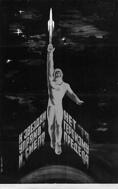2001_323-Soviet-space-1968-agitprop-poster by Caleb Dawson, via Flickr