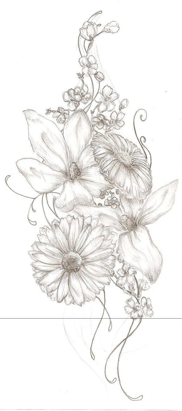 best next flowers images on pinterest tattoo ideas rose
