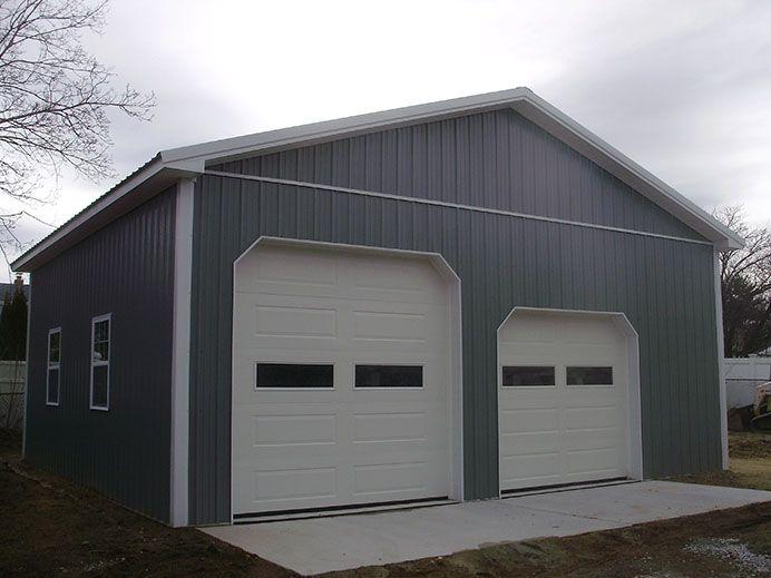 Building dimensions 30 w x 28 l x 12 4 h id 323 for Pole barn dimensions