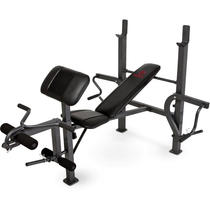 Workout Weight Bench Press with Butterfly With Butterfly Leg MD-389 new free Shi #Marcy