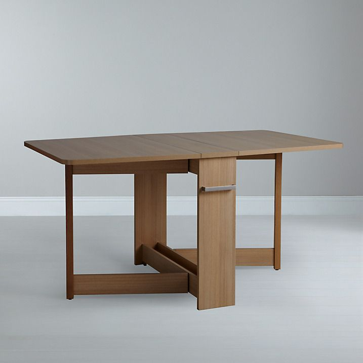 Buy Leon Pfeifer for John Lewis Croyde Drop Leaf Folding Dining Table Online at johnlewis.com
