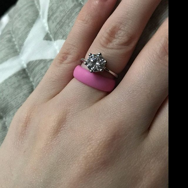 22 best Womens Silicone Wedding Ring Styles images on Pinterest