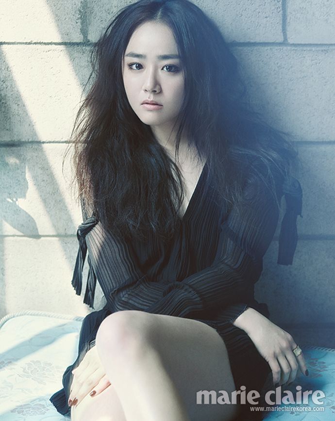 Moon Geun Young Is Smokey & Wet In Marie Claire's May 2014 Issue | Couch Kimchi