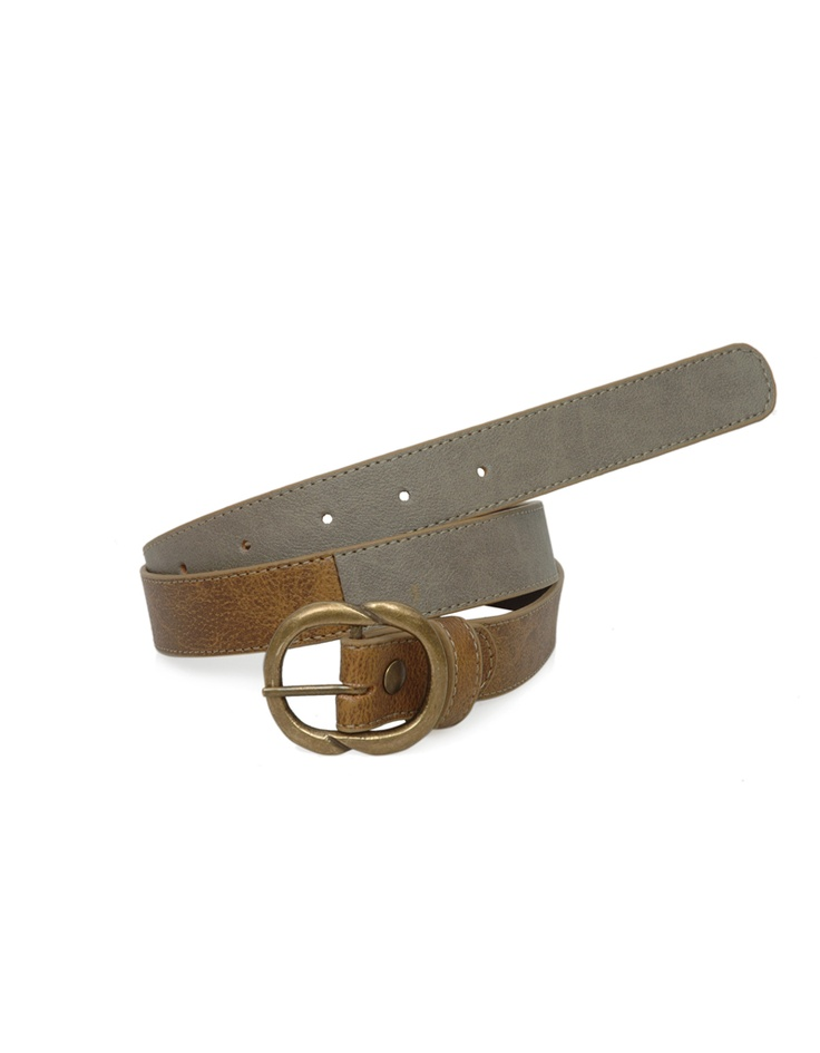 A two toned belt by Baggit.