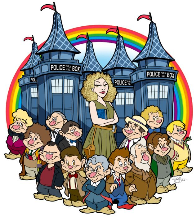 Cartoon: River Song and the Doctors…Disney edition :) Enjoy! Share! Comment! Happy New Year :)