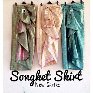 SONGKET LONG SKIRT ( 1059062 ) - Toko Online thebutikbunda | Shopious