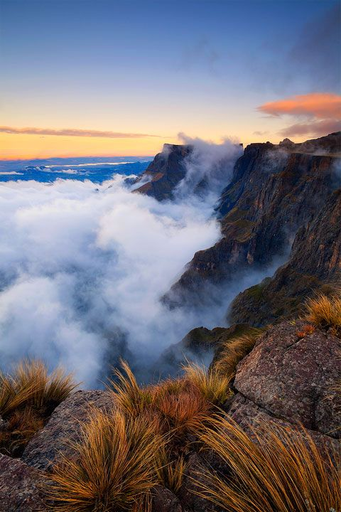 Drakensberg Amphitheater, Southern Africa