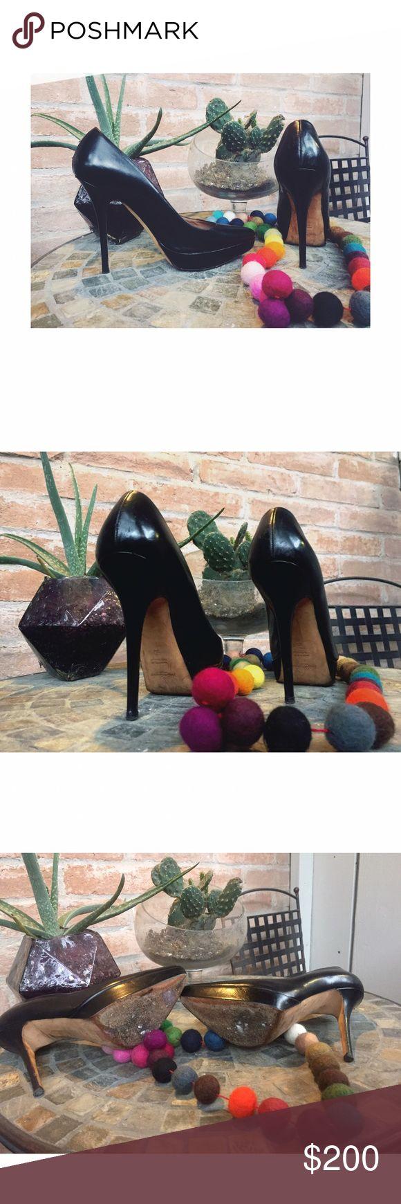 YSL Noir Pumps SALE ENDS TOMORROW AT 12- SALE-----YSL Black Pumps, Noir, 38 - Fits a 7.5-8 🖤 Please zoom in, ask questions if needed 🖤 Yves Saint Laurent Shoes Heels
