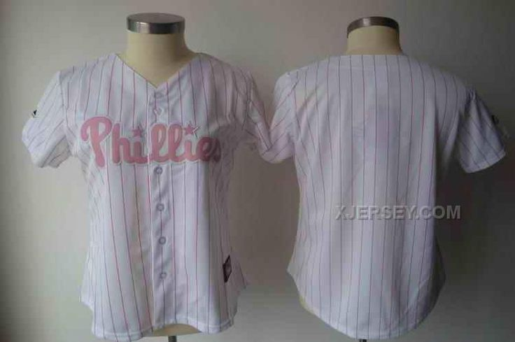 http://www.xjersey.com/phillies-blank-white-pink-strip-women-jersey.html PHILLIES BLANK WHITE PINK STRIP WOMEN JERSEY Only $35.00 , Free Shipping!