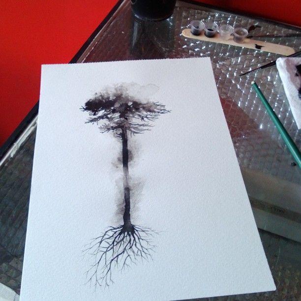 Araucaria ... #tattoodesign