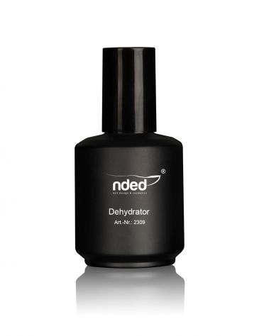 The nded Dehydrator is an ideal compliment to the normal bonding agent. The nails are completely removed of grease. This guarantees that acrylic and gel nails adhere perfectly and permanently to the well prepared natural nail. #nded #dehydrator www.nded.com