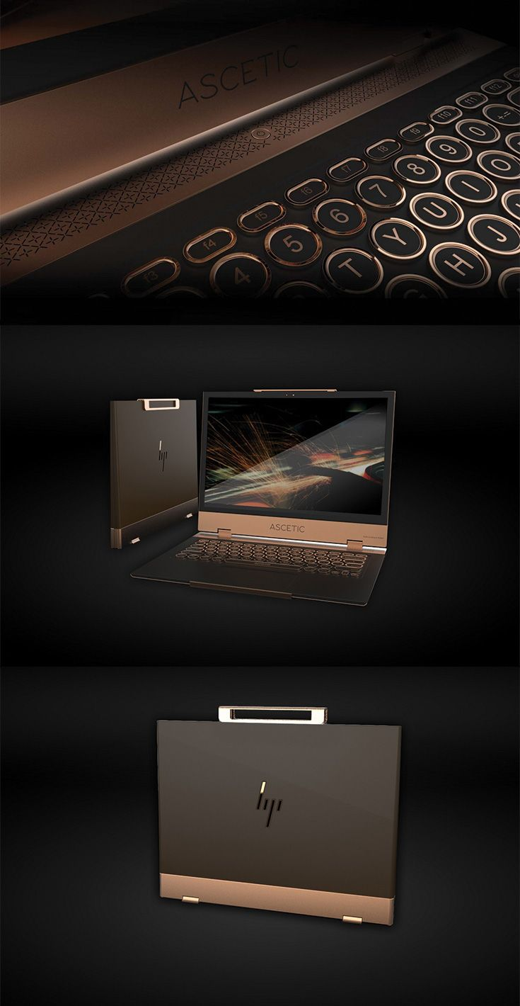 'Ascetic' is a laptop that goes a step further than HP Spectre to marry great aesthetics with incredible functionality, designed to be carried without a bag for the flourishing businessman who wants to make a style statement... READ MORE at Yanko Design !