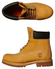 TIMBERLAND ICON PREMIUM LEATHER BOOT - WHEAT