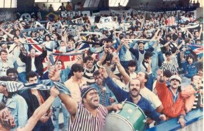SSC Napoli vs PAOK FC | PAOK piranhas | (1988)